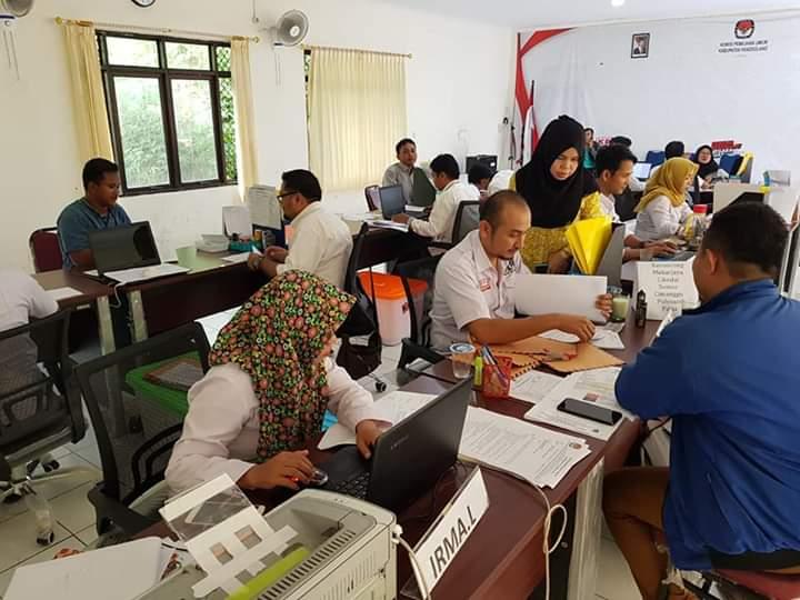Memasuki Hari Keempat, Jumlah Pendaftaran PPK Mencapai 184 orang
