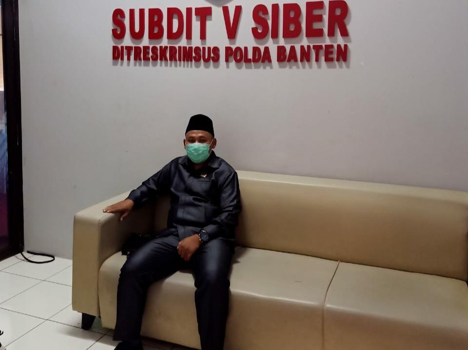 Tidak  Hadir Dalam Audiens, Musa Weliansyah Lengkapi Berkas Lapdu ke Polda Banten