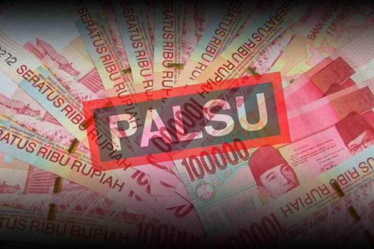 Polisi Amankan Pengedar Uang Palsu di Pandeglang Banten