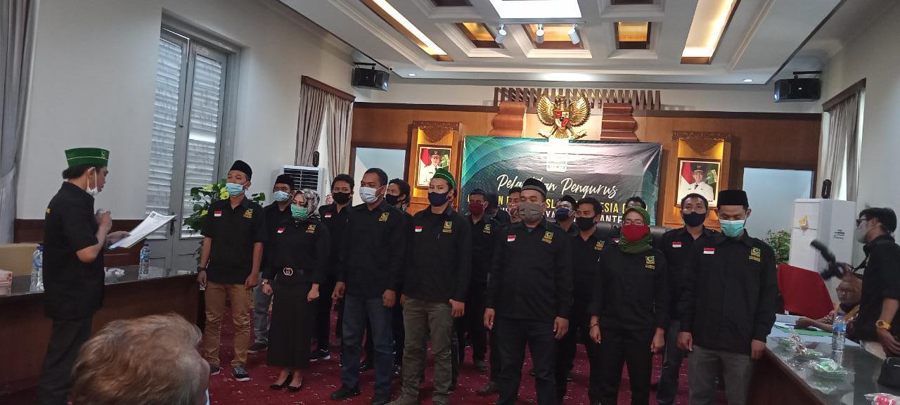 Iin Muhlisin Resmi Nahkodai PW GPII Banten
