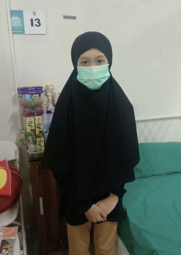 Aisyah Anak Sebatang Kara Ditinggal Ibunya Karena Covid-19, Kini Ditangani Pemkot Tangsel