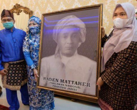 Raden Mattaher Dinobatkan Sebagai Pahlawan Nasional