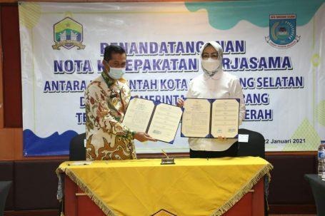 Walikota Tangsel dan Serang MoU Terkait Pengelolaan Sampah